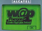 Logo WAP na telefonu Paegas