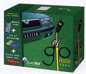 go felicia v krabici. auto v krabici není. krabice je v autě!