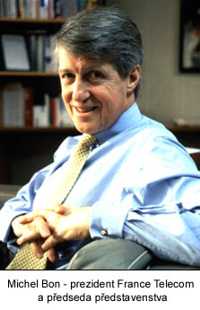 Michel Bon - šéf France Telecom