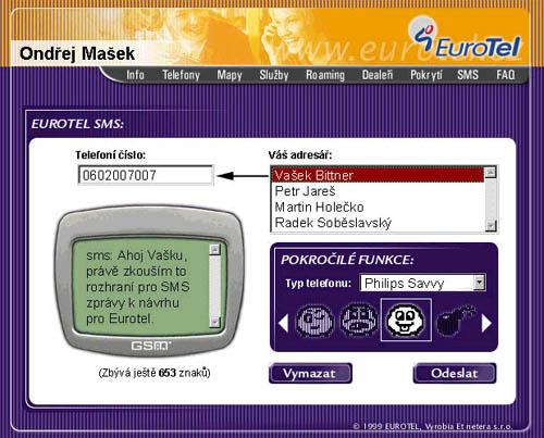 SMS brána EuroTelu v novém hávu