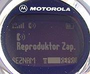 Motorola hlasité HF