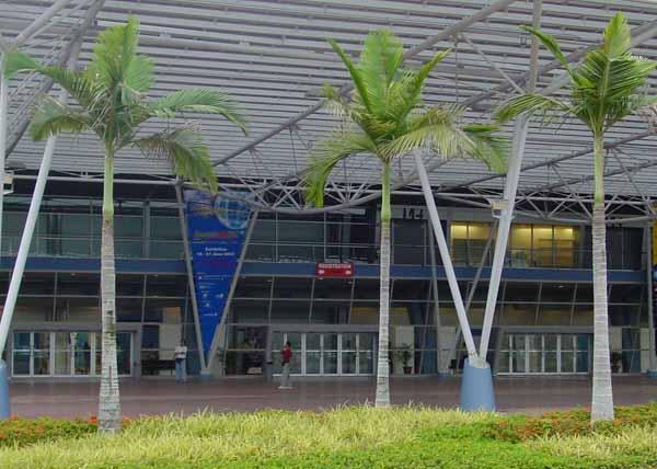 Communic Asia 2002 - výstaviště v Singapuru