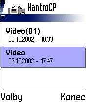 Video pro telefony Nokia 7650
