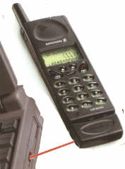 Ericsson DI 27 - není nat infračervenou barvičku...