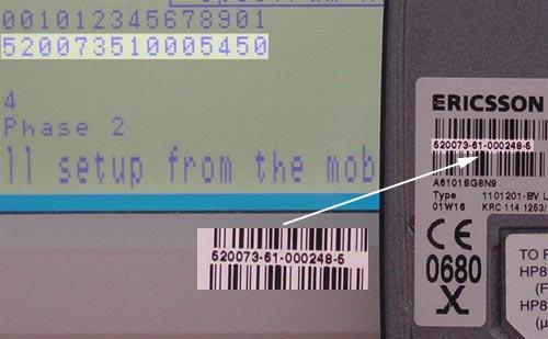 Mobily se zmenenym IMEI - r320