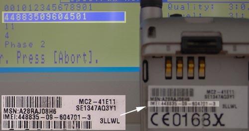 Mobily se zmenenym IMEI - V51