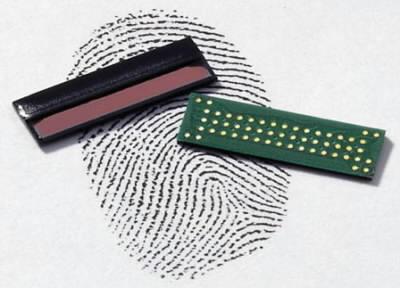 Fujitsu senzor otisku prstu