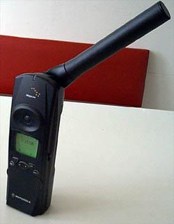 Motorola Iridium připravné k hovoru