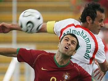 Portugalsko - Írán: Golmohammadí a Pauleta