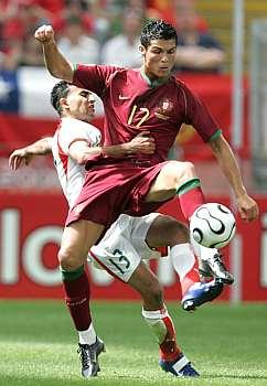 Portugalsko - Írán: Ronaldo a Káebí