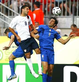 Itálie - USA: Dempsey, Toni a Gilardino