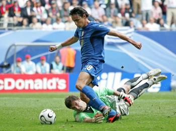 Česko - Itálie: Čech a Inzaghi