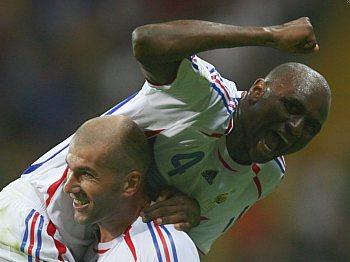 Francie: Zidane a Vieira