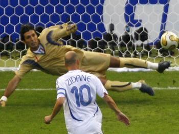 Zidane, penalta