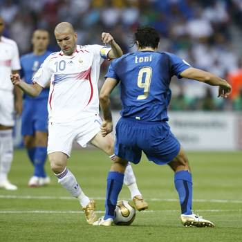 Francie, Itálie, Toni, Zidane