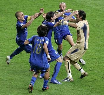 Itálie - Francie: italská radost