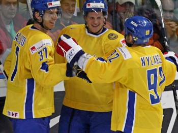 Švédsko - Kanada: oslava
