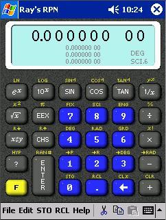 Náhled aplikace Rays RPN Calculator 1.0 Alpha