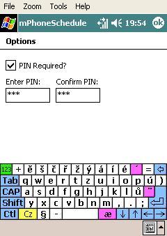 mPhoneSchedule – vše už je automatika