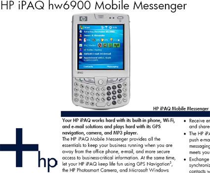 iPAQ hw6900
