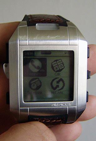 Wrist PDA