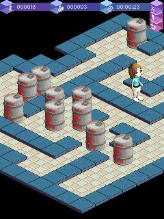 Legendární logická hra Sokoban ožívá ve 3D rozměru
