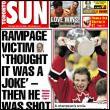 Titulní strana Toronto Sun