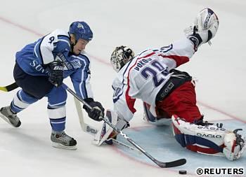 Finsko - Česko: Hagman dává gól