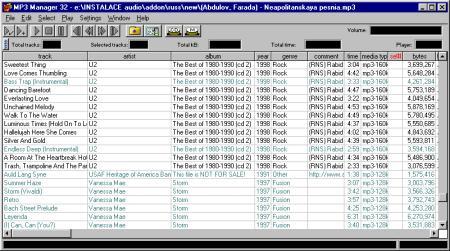 MP3 Manager 32 v.4.50