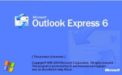 Spuštění Outlooku