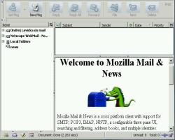 Mozilla - e-mailový klient
