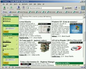 Mozilla - okno prohlížeče