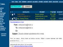 Autodestrukční e-mail - brzy bude vymazán
