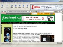 Prohlížeč Opera 6.0b