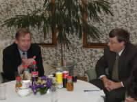 Setkání Václava Havla s Billem Gatesem