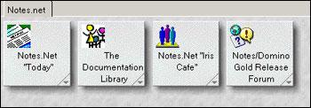 Lotus Notes - ikony