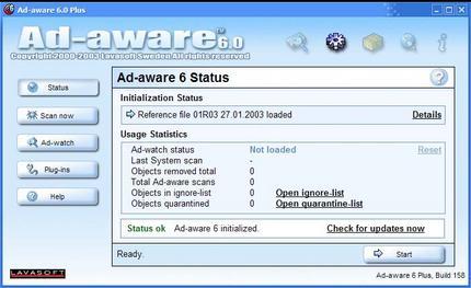 Ad-aware 6.0 Plus
