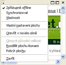 Konfigurace ploch Windows