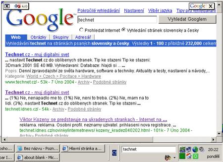 Integrujeme vyhledávač do Windows