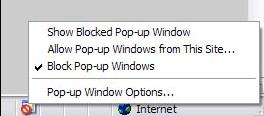 Pop-up Blocker