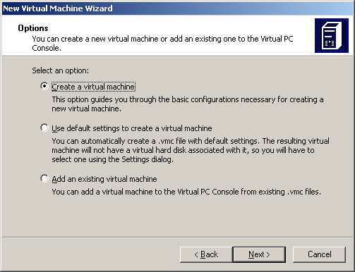 Microsoft Virtual PC 2004 SP1