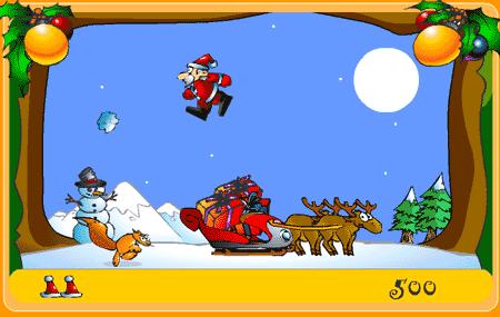Vánoční flashová nadílka