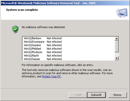 Microsoft Windows Malicious Software Removal Tool