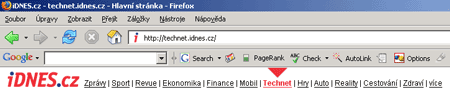 Google Toolbar BETA for Firefox