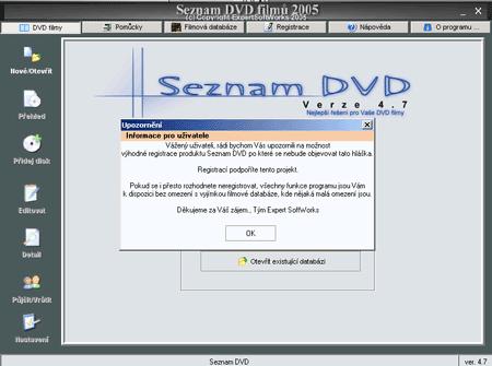 Seznam DVD