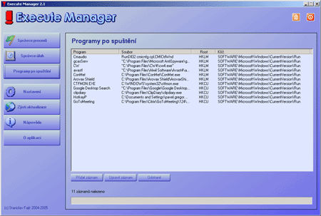 Execute Manager