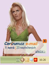 Centrum.cz notifikátor - Blonde Edition