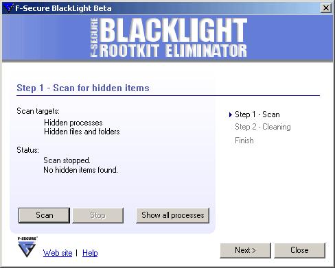 F-Secure BlackLight