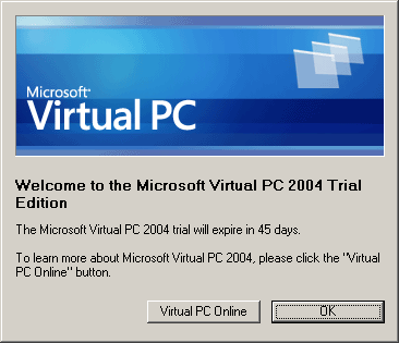 Microsoft Virtual PC 2004