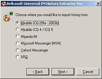 Belkasoft Universal IM History Extractor Pro